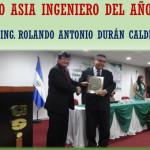 PREMIOS ASIA 2016 - INGENIERO DEL AÑO !!!