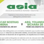 Premios ASIA 2017