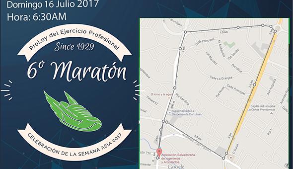 6a Maratón ASIA 2017